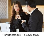 sexual harassment at work... | Shutterstock . vector #662215033