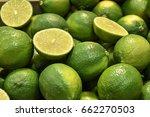 seedless limes   Shutterstock . vector #662270503