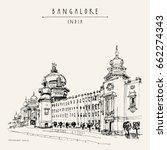 bangalore  bengaluru  ...   Shutterstock .eps vector #662274343