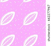 vector seamless pattern with... | Shutterstock .eps vector #662277967