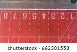 aerial running tracks   Shutterstock . vector #662301553