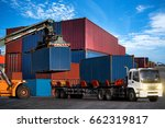 industrial business logistics... | Shutterstock . vector #662319817