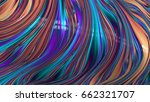colorful and unique abstract... | Shutterstock . vector #662321707