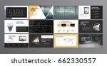 original presentation templates.... | Shutterstock .eps vector #662330557