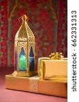special eid gift and ramadan... | Shutterstock . vector #662331313