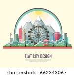 flat style modern design of... | Shutterstock .eps vector #662343067
