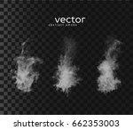 vector illustration of smoky...   Shutterstock .eps vector #662353003