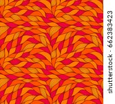 seamless pattern with abstract... | Shutterstock .eps vector #662383423