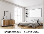 corner of a modern luxury... | Shutterstock . vector #662459053