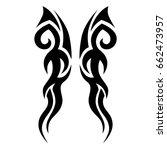 tattoo tribal vector designs.   Shutterstock .eps vector #662473957