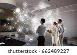social networking technologies .... | Shutterstock . vector #662489227