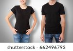 shirt design and people concept ... | Shutterstock . vector #662496793