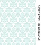 vector seamless ornament...   Shutterstock .eps vector #662523697