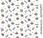 beer pattern geometric | Shutterstock .eps vector #662526997