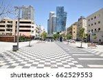 tel aviv  israel   2017 april... | Shutterstock . vector #662529553