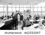startup business people group... | Shutterstock . vector #662531047
