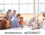 startup business people group... | Shutterstock . vector #662548627