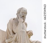 athens greece  socrates the... | Shutterstock . vector #662554963