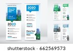 city background business roll... | Shutterstock .eps vector #662569573
