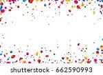 white festive background with... | Shutterstock .eps vector #662590993