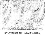 grunge black and white urban... | Shutterstock .eps vector #662592067