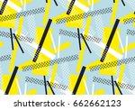 modern abstract seamless... | Shutterstock .eps vector #662662123