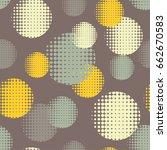 polka dot seamless pattern....   Shutterstock .eps vector #662670583