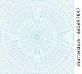 blue polar coordinate circular...   Shutterstock .eps vector #662697847