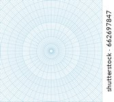 Blue Polar Coordinate Circular...