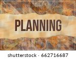 planning  business   finance... | Shutterstock . vector #662716687