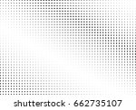 abstract halftone dotted... | Shutterstock .eps vector #662735107
