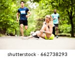 young woman at the competition... | Shutterstock . vector #662738293