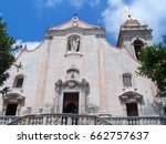 Facade Of San Giuseppe Church...