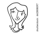 illustration of funny cartoon... | Shutterstock .eps vector #662808097