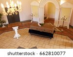 funeral and mourning concept  ...   Shutterstock . vector #662810077
