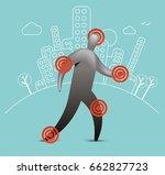 patient symptoms | Shutterstock .eps vector #662827723