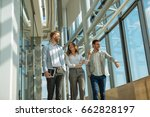 photo of a businesspeople...   Shutterstock . vector #662828197