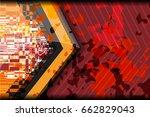 background grunge texture... | Shutterstock .eps vector #662829043