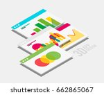 vector isometric 3d user...