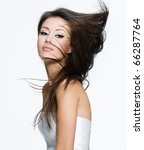 sensual young woman with... | Shutterstock . vector #66287764