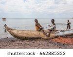 senga bay  malawi   september... | Shutterstock . vector #662885323