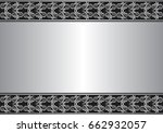 antique background with... | Shutterstock .eps vector #662932057