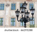 Old Lantern. Street Lamp In Th...