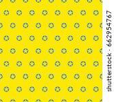 pop art star pattern background.... | Shutterstock .eps vector #662954767