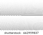 abstract halftone dotted... | Shutterstock .eps vector #662959837