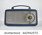 Blue Retro Vintage Transistor...