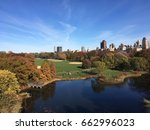 View Of Central Park New York...
