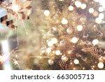 christmas background | Shutterstock . vector #663005713