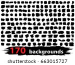 vector very large collection or ... | Shutterstock .eps vector #663015727