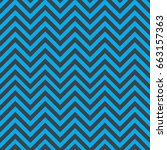 gray and blue chevron pattern... | Shutterstock .eps vector #663157363